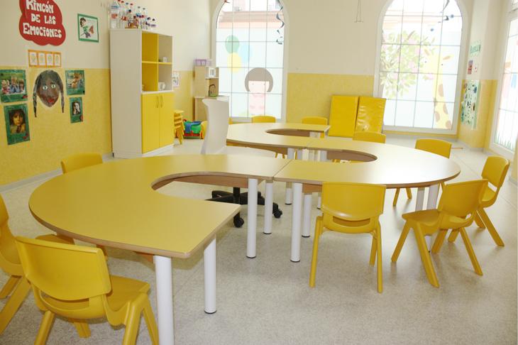 clase amarilla - Escuela Infantil en Málaga - Con C de Cariño