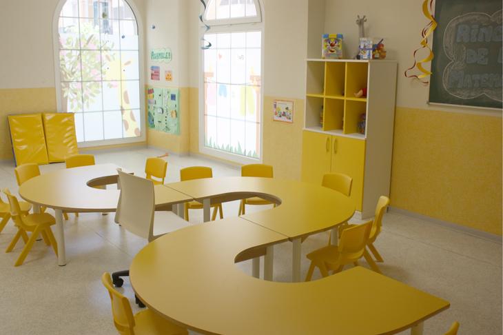 aula amarilla - Escuela Infantil en Málaga - Con C de Cariño