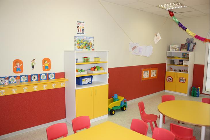 Aula roja - Escuela Infantil en Málaga - Con C de Cariño