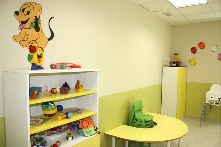 Aula verde - Escuela Infantil en Málaga - Con C de Cariño