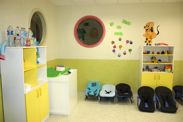 Aula verde- Escuela Infantil en Málaga - Con C de Cariño