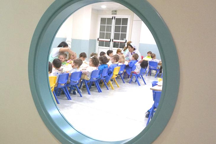 Comedor, imagen de galería - Escuela Infantil en Málaga - Con C de Cariño
