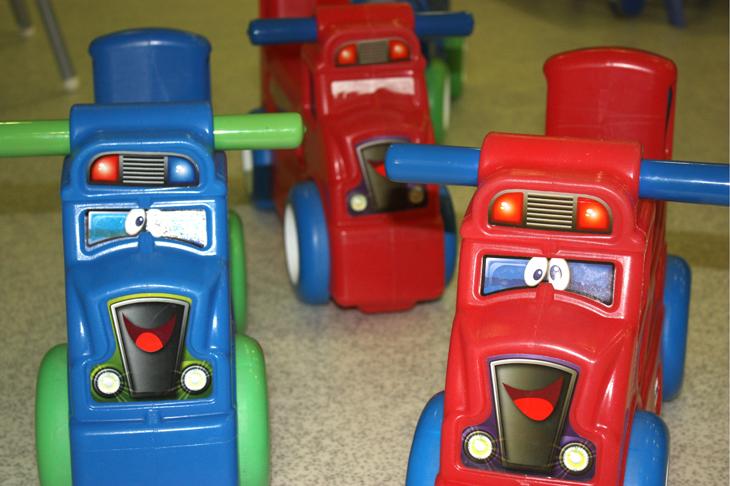 Motos, imagen de galería - Escuela Infantil en Málaga - Con C de Cariño