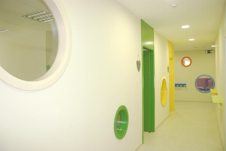 Pasillos, imagen de galería - Escuela Infantil en Málaga - Con C de Cariño