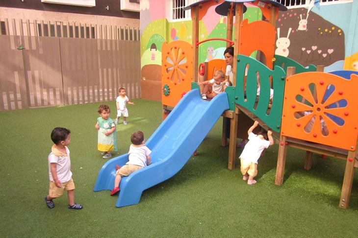 Patio - Escuela Infantil en Málaga - Con C de Cariño