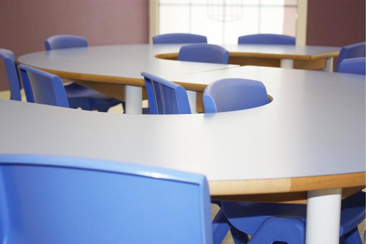Aula azul - Escuela Infantil en Málaga - Con C de Cariño