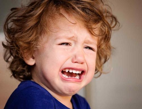 Cuando entran llorando a la escuela